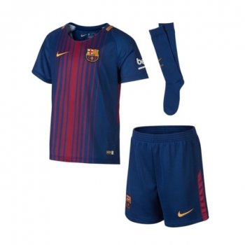 komplet Nike FC Barcelona Home 2017-18 Little Boy 847355 457