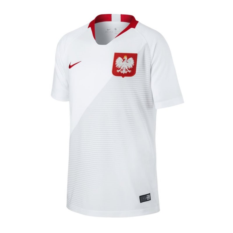 koszulka Nike Jr Breathe Poland Home Stadium 894015 100