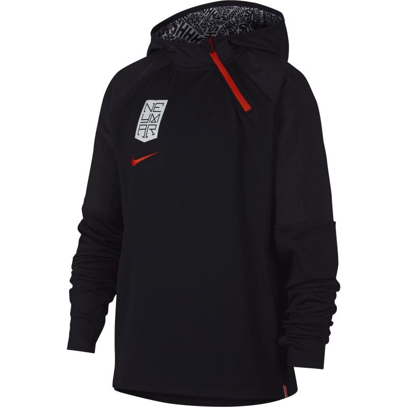 Sweatshirt Nike Neymar Dry Hoodie Junior AO0742 010
