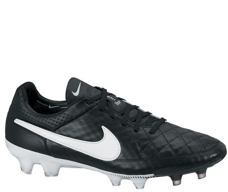 Buty Nike Tiempo Legend V FG CzarnyBiały