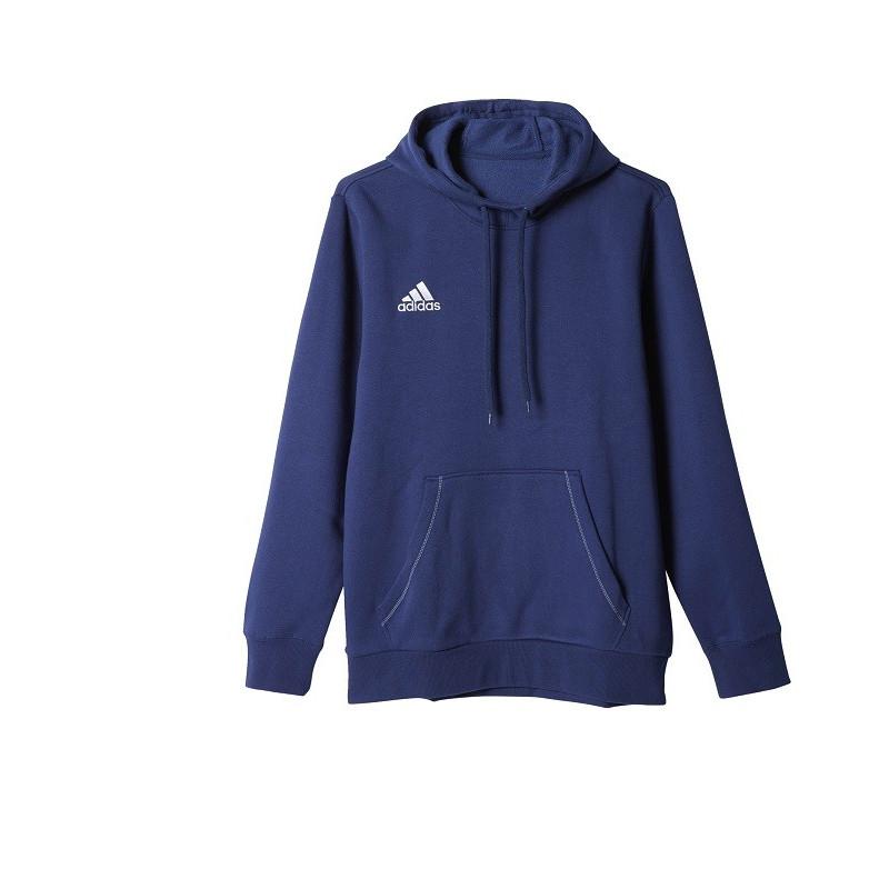 Bluza z kapturem adidas Core 15 CiemnoniebieskiBiały